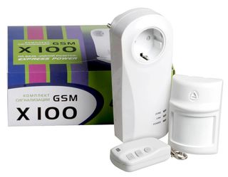 X100 GSM-сигнализация
