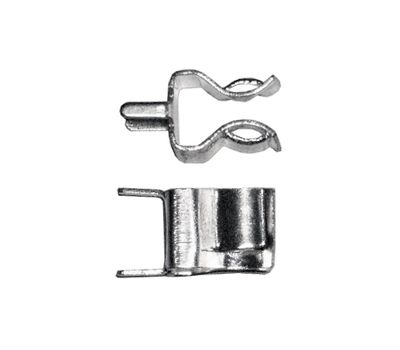 Фото 6630: K23421-2 держатель (клипса) для предохр., 5x20, на плату, тип 2